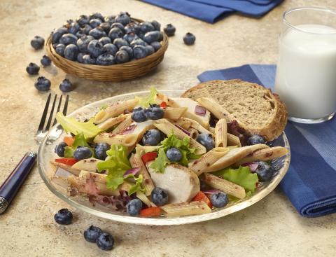 PICT RECIPE Blueberry Pasta Salad - USDA