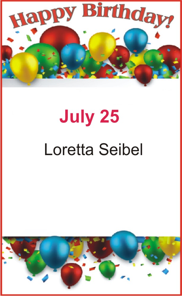 Happy birthday to Seibel