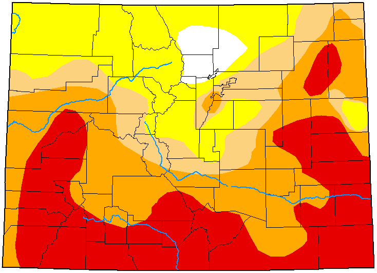 MAP Colorado Drought Conditions - July 21, 2020 - National Drought Mitigation Center
