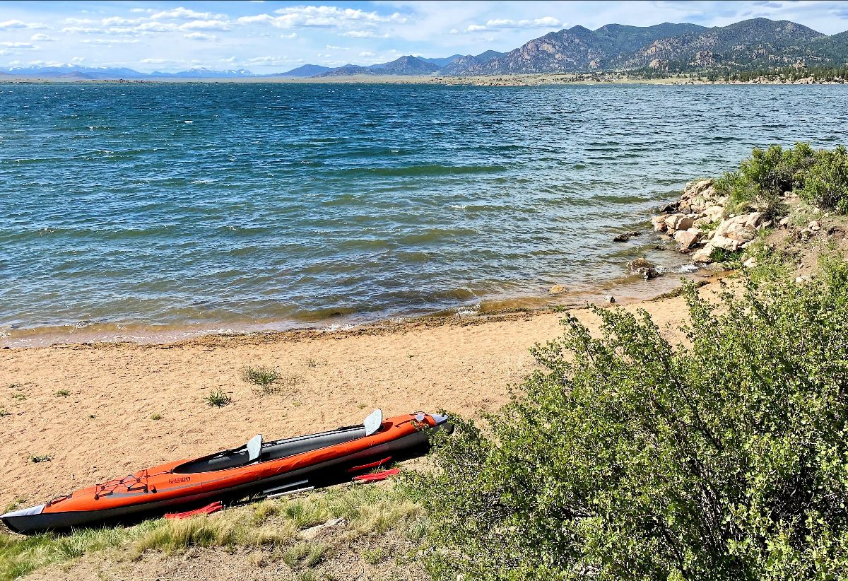 PICT Canoe Water Lake - CPW