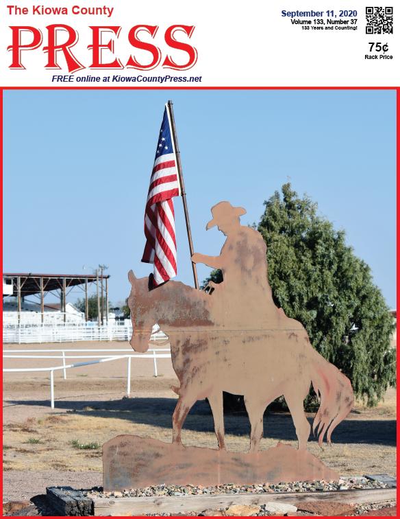 Photo of the Week - 2020-09-11 - Celebrating Kiowa County fair week in Eads, Kiowa County, Colorado.