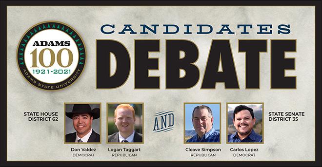 AD Adams State debate graphic