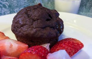 PICT RECIPE Chocolate Pumpkin Muffins - USDA
