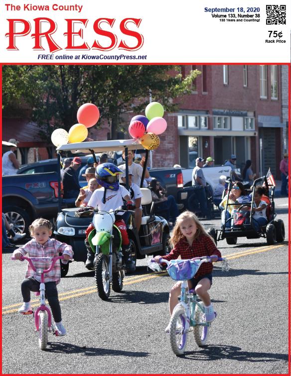 Photo of the Week - 2020-09-18 - Scene from the annual Kiowa County fair parade in Eads, Kiowa County, Colorado.