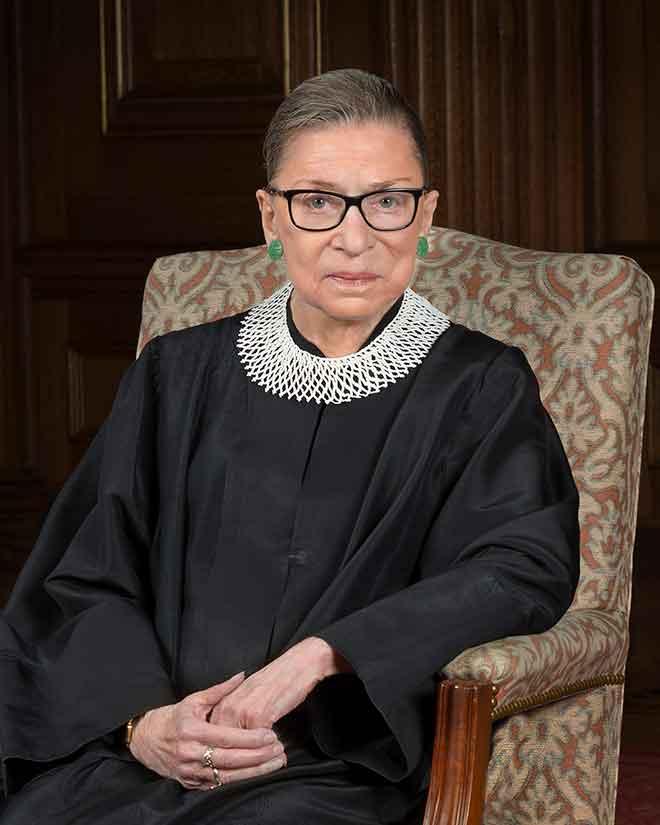 PICT 64J1 Ruth Bader Ginsburg 2016 portrait - public domain