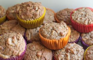 PICT RECIPE Apple Oatmeal Muffins - USDA