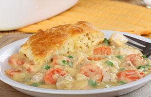 PICT RECIPE Easy Chicken Pot Pie - USDA