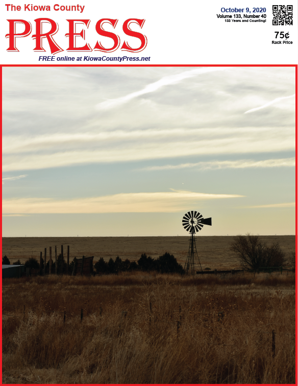 Photo of the Week - 2020-10-09 - Windmill on the plains of Kiowa County, Colorado.