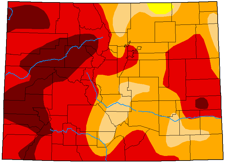 MAP Colorado Drought Conditions - October 6, 2020 - National Drought Mitigation Center