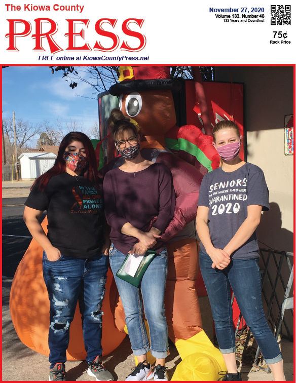 Photo of the Week - 2020-11-27 - Kicking off the holiday season at Crow's Stop and Shop in Eads, Kiowa County, Colorado.