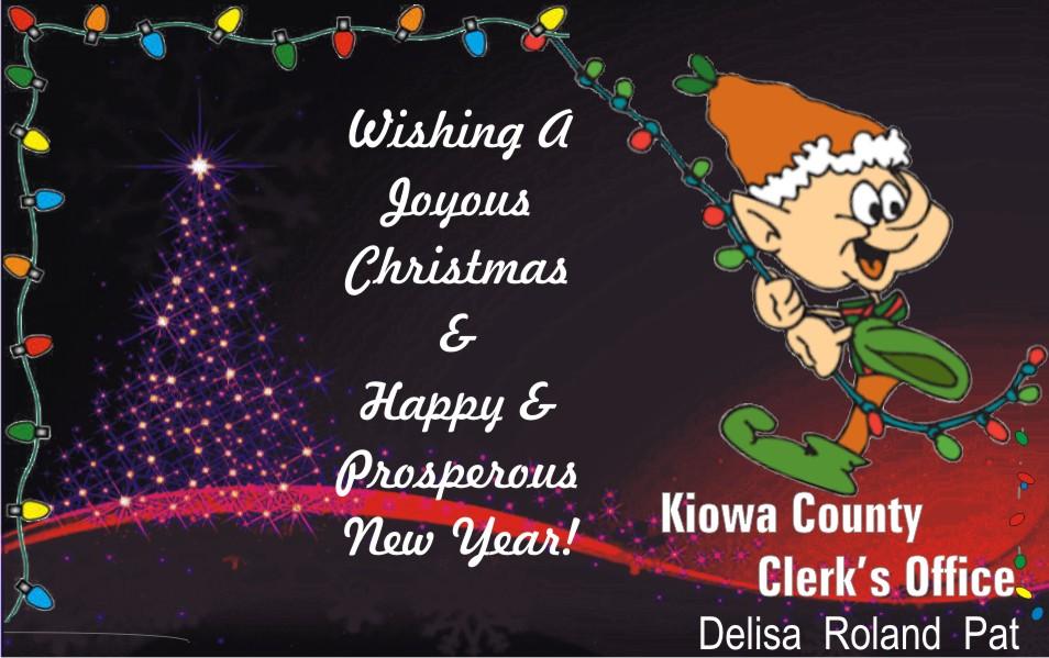 AD 2020-12 Kiowa County Clerk