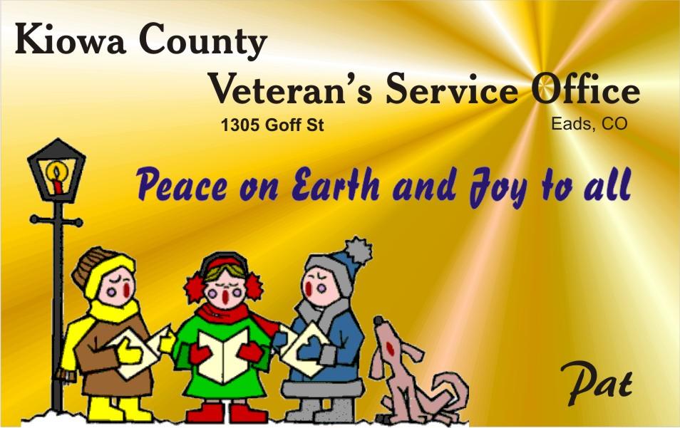 AD 2020-12 Kiowa County Veterans