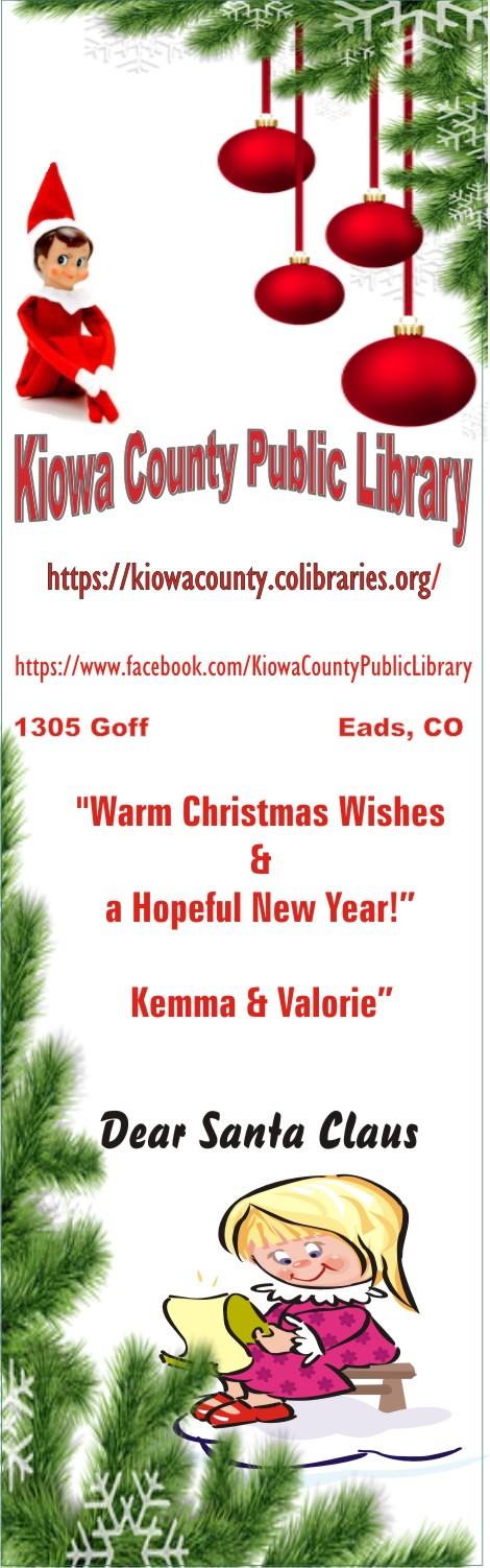 AD 2020-12 Kiowa County Public Library