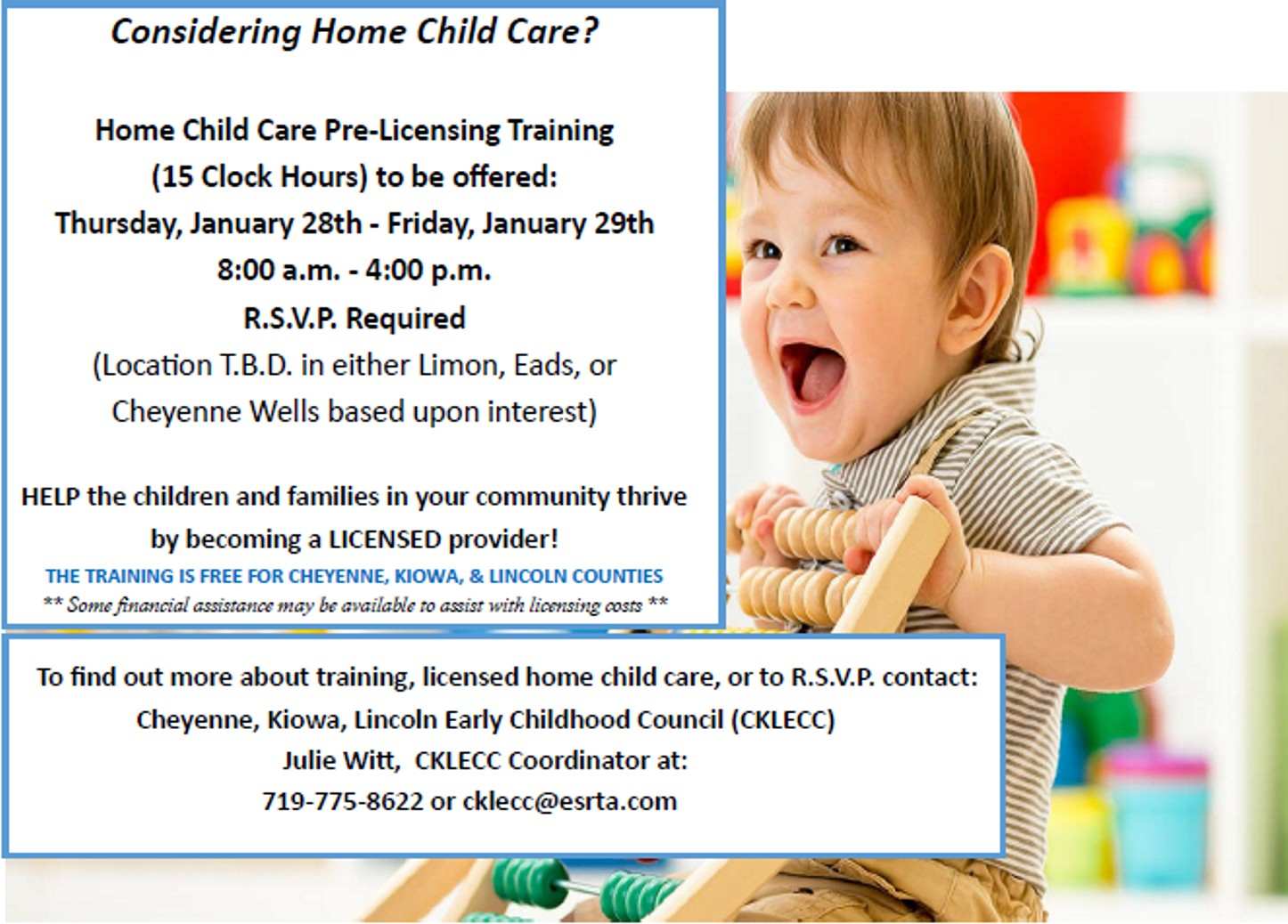 AD 2021-01 Education - Licensed Home Child Care - CKLECC