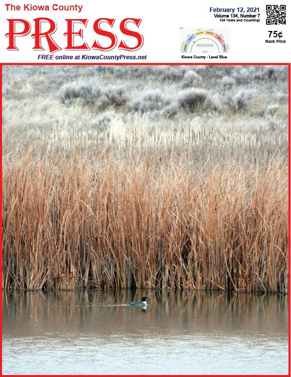 Photo of the Week - 2021-02-12 A lazy Sunday on Jackson's Pond south of Eads in Kiowa County, Colorado - Chris Sorensen