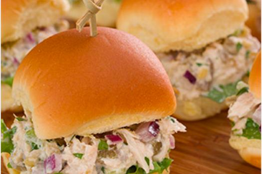 PICT RECIPE Tuna Sliders with Green Chiles - USDA