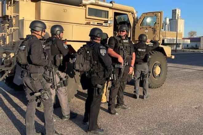 PICT SWAT response in Eads April 11, 2021 - KCSO