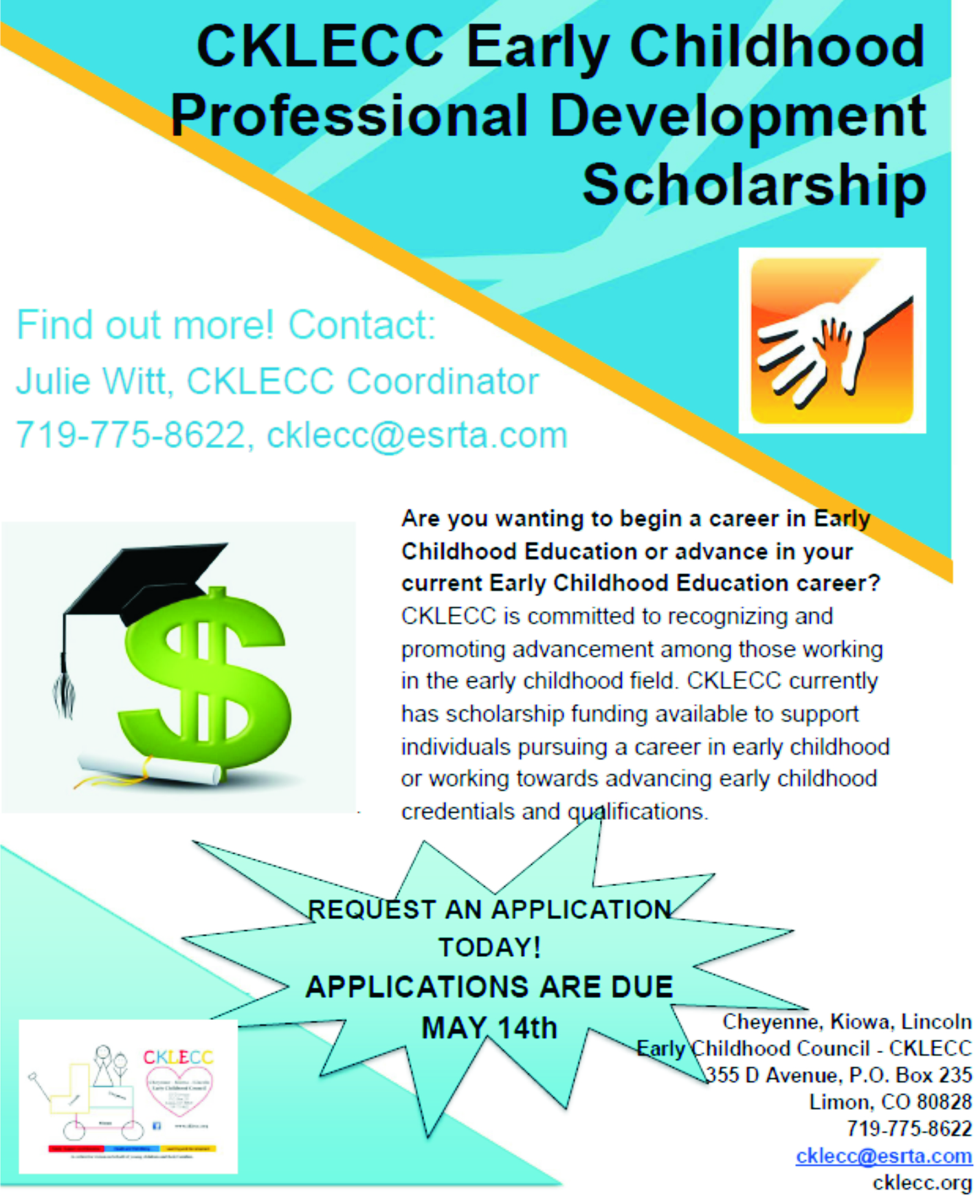 AD 2021-04 Education Early Childhood Professional Development Scholarship
