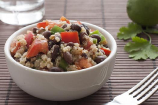 PICT RECIPE Quinoa And Black Bean Salad - USDA
