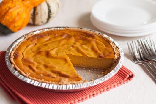 PICT RECIPE Pumpkin Cheese Pie - USDA