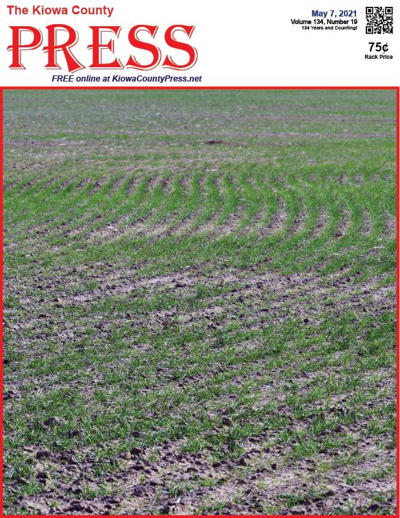 Photo of the Week - 2020-05-07 - Wheat growing in Kiowa County, Colorado - Chris Sorensen