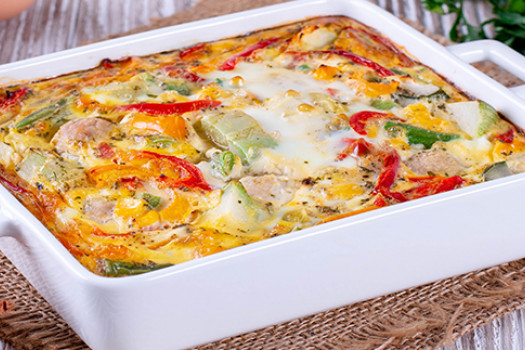 PICT RECIPE Polenta With Pepper And Cheese - USDA