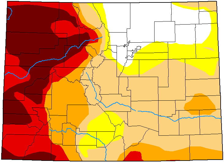MAP Colorado Drought Conditions - May 11, 2021 - National Drought Mitigation Center