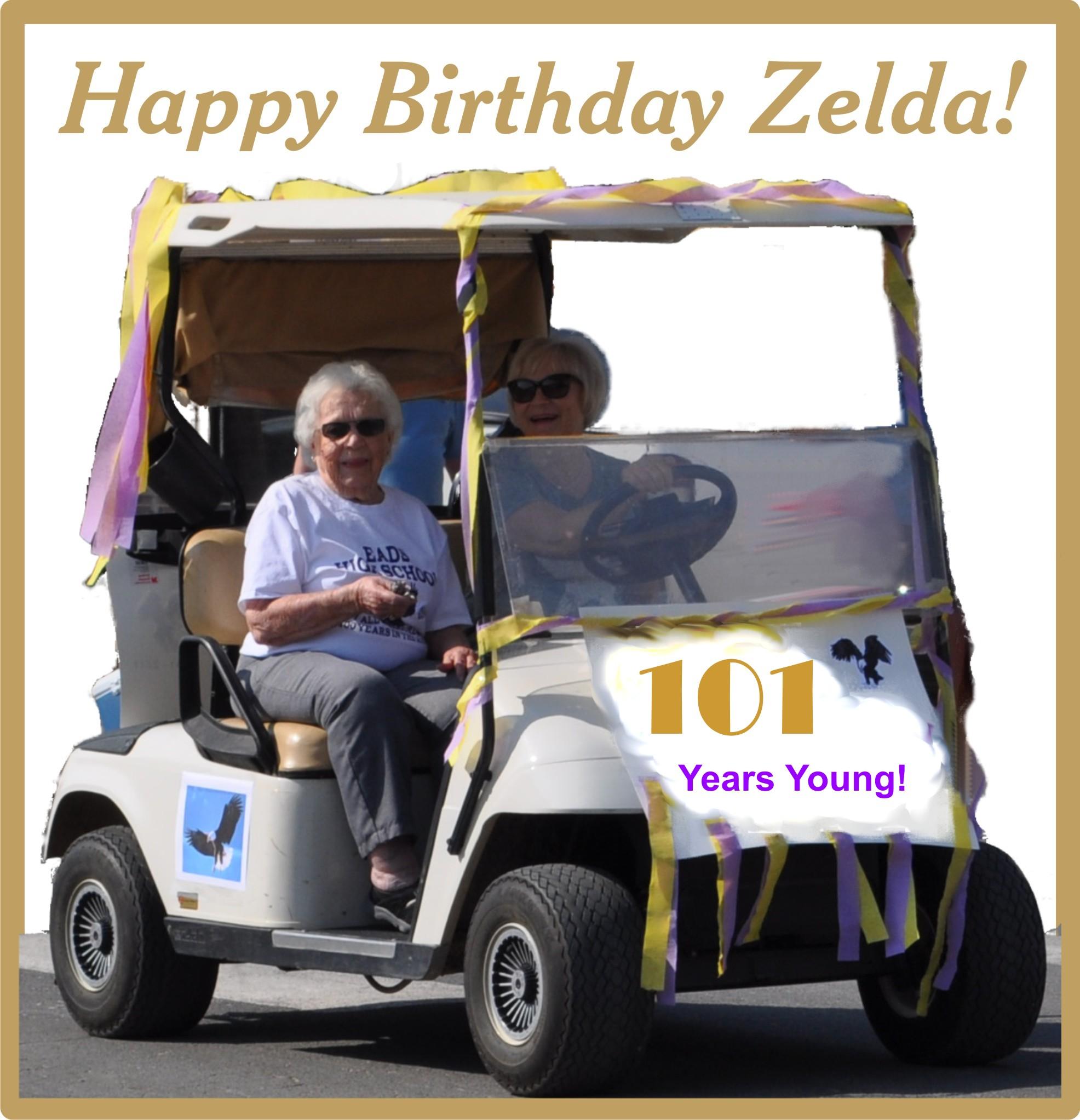 Happy birthday to Zelda Petersen
