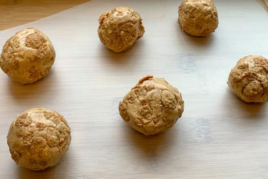 PICT RECIPE Honey Milk Balls - USDA