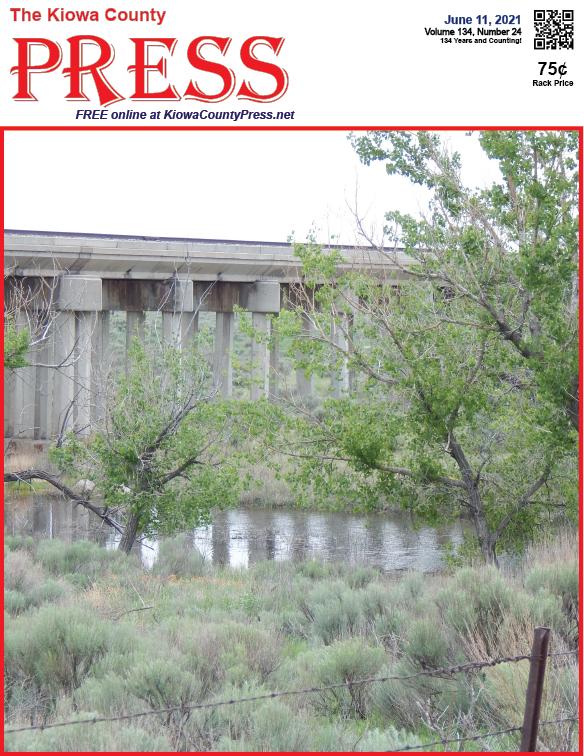 Photo of the Week - 2020-06-11 - Water in Big Sandy Creek in Kiowa County, Colorado - Jeanne Sorensen