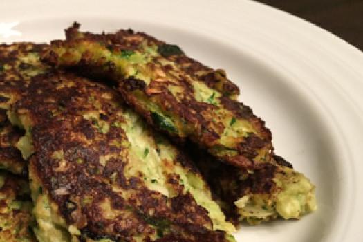 PICT RECIPE zucchini pancakes - USDA