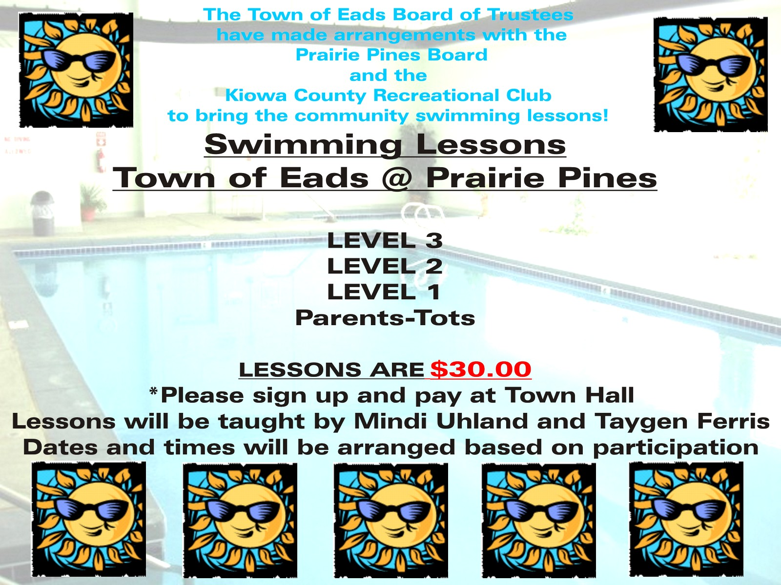 AD 2021-06 Education - Swimming Lessons