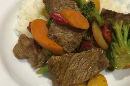 PICT RECIPE Stir Fried Beef and Vegetables - USDA