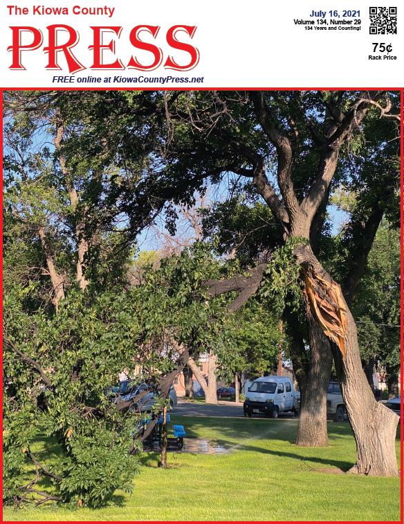 Photo of the Week - 2020-07-16 - Damage from a wind storm last week in Kiowa County, Colorado - Chris Sorensen