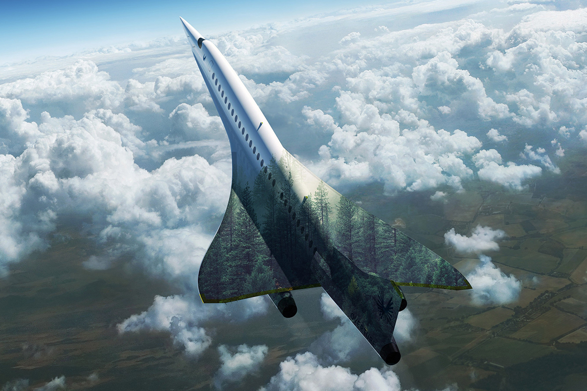 PICT EarthTalk United Airlines has committed to purchasing 15 of Boom Supersonic's first commercial supersonic (SST) jet, the Overture