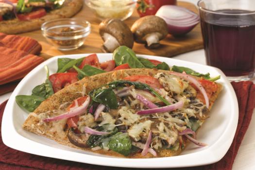 PICT RECIPE Herbed Garden Pizza - USDA