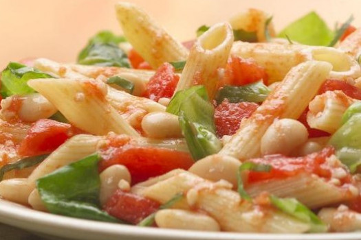 PICT RECIPE Tuscan-Style Pasta with Cannellini - USDA