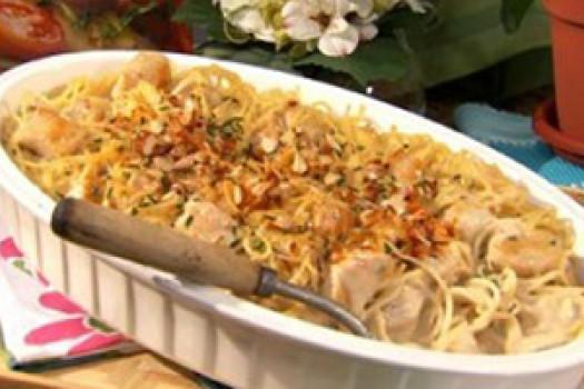 PICT RECIPE zingy lemon chicken pasta - USDA