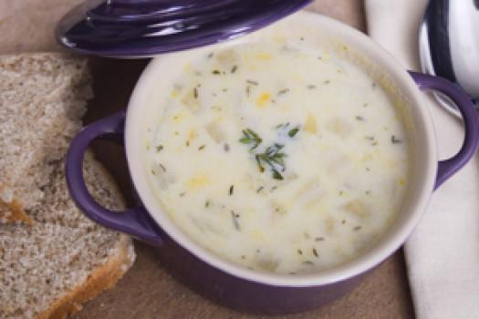 PICT RECIPE 10-Minute Corn Chowder - USDA