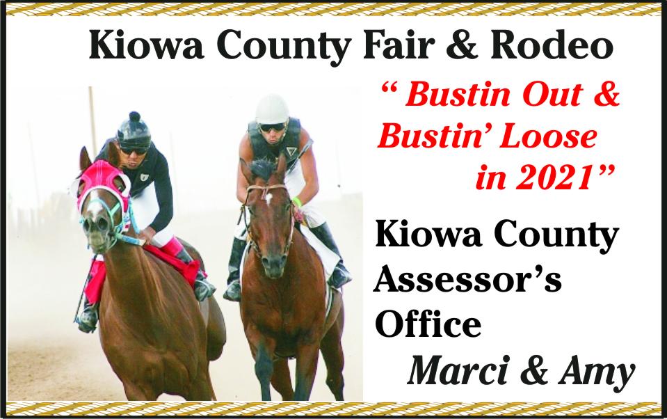 2021 Kiowa County Assessor Fair