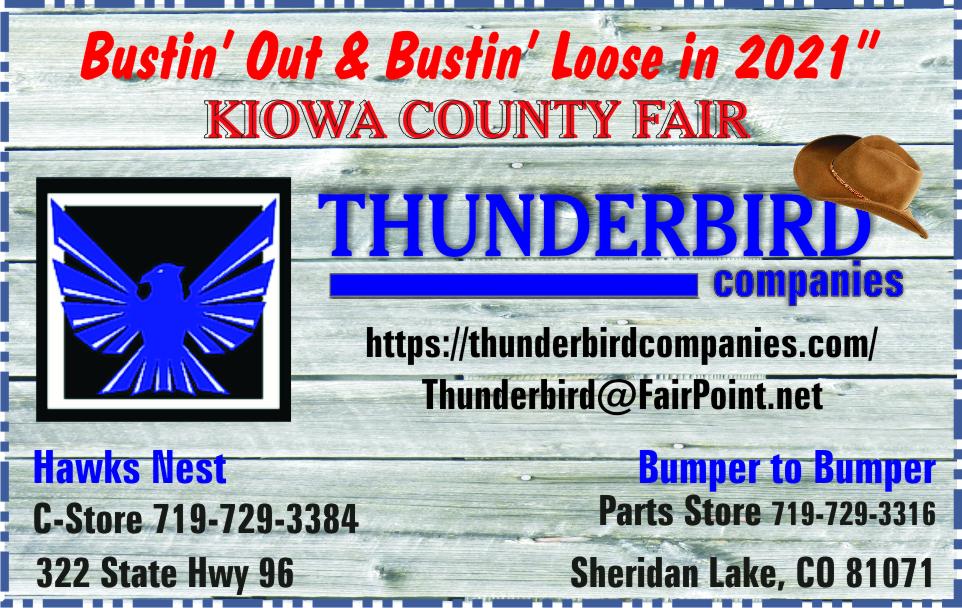 2021 Thunderbird Companies Fairs