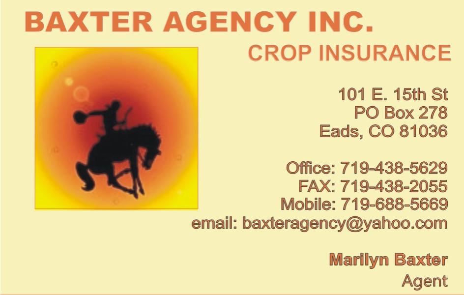 PICT 2019 Kiowa County Fair Sponsor - Baxter Agency