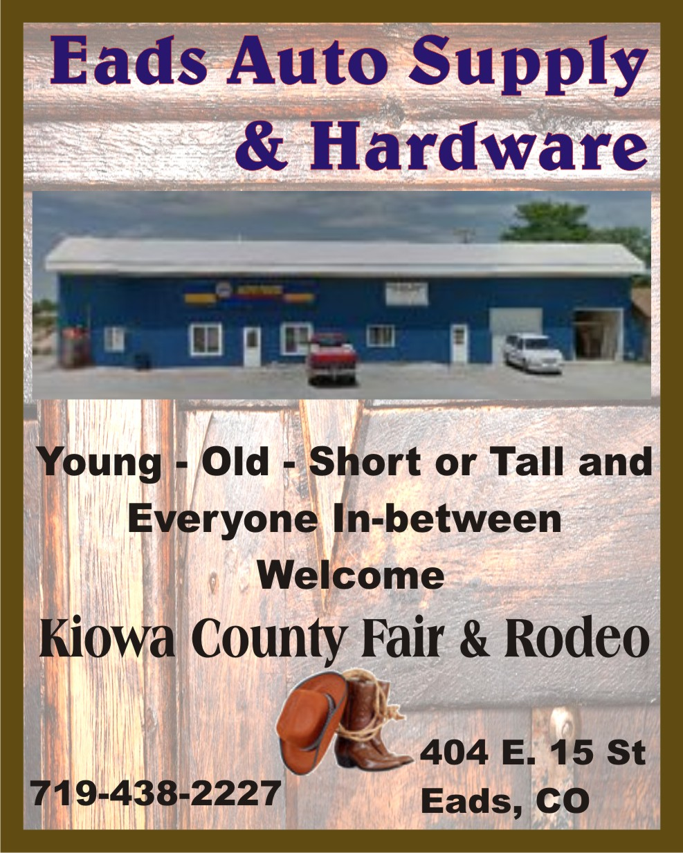PICT 2019 Kiowa County Fair Sponsor - Eads Auto