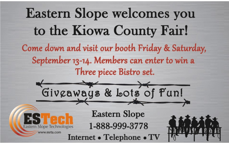 PICT 2019 Kiowa County Fair Sponsor - Eastern Slope Rural Telephone