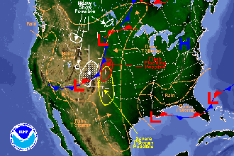 National Weather Map
