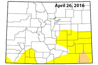 Colorado Drought Map