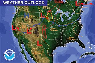Weather Outlook - June 12, 2016