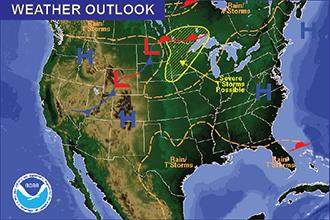 Weather Recap - June 19, 2016 Summary Image