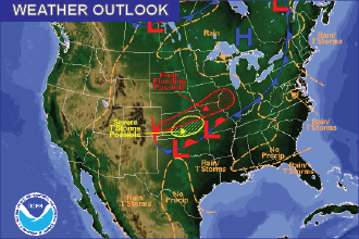 Weather Outlook - August 26, 2016