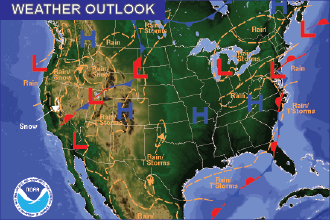 Weather Outlook - October 2, 2016